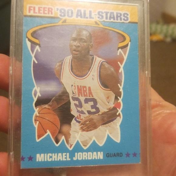 Fleer Other - 1990 Fleer All-Star Michael Jordan